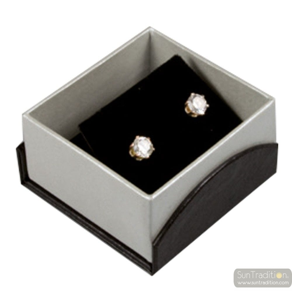 BLACK BOX CASTLE FOR EARRINGS