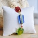 4 SEASONS SUMMER BRACELET GENUINE MURANO GLASS OF VENICE