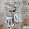 PASTIGLIA ACIDO PICCOLI - GLOSSY GLASS EARRINGS - GENUINE VENICE MURANO GLASS