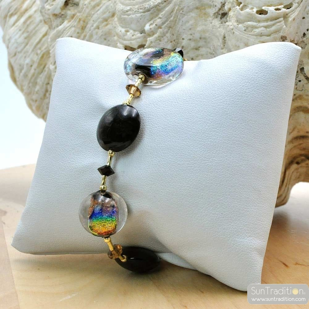 MOONLIGHT - GENUINE MURANO GLASS BRACELET