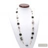 MOONLIGHT NECKLACE GENUINE MURANO GLASS OF VENICE