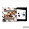 FENICIO BLUE EARRINGS GENUINE VENICE MURANO GLASS