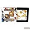 Colorado gold long - Long gold Murano glass necklace true venitian beads of Italy
