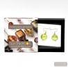 PASTIGLIA GREEN EARRINGS GENUINE MURANO GLASS VENICE
