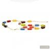 MULTICOLOR MURANO JEWELRY SET IN REAL MURANO GLASS FROM ITALY