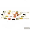 Amber Murano Glass Jewelllery set real Venitian Collar jewel Italy