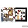 Scoglio satin color fall - Gold and brown Murano glass necklace true jewel of venice Italy