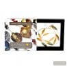 amber and gold necklace - amber and gold Murano glass necklace real italian jewel of Venice