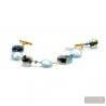 MOONLIGHT - GENUINE MURANO GLASS BRACELET
