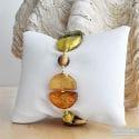 COLORADO GOLD BRACELET GENUINE MURANO GLASS OF VENICE