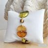 GOLD GENUINE VENETIAN MURANO GLASS BRACELET