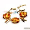 Albatross Amber - Genuine Murano glass bracelet