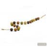 GOLD NECKLACE GENUINE MURANO GLASS FROM VENICE