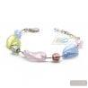 multicolor Murano glass bracelet Venice