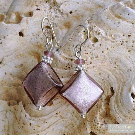PARMA MURANO GLASS EARRINGS