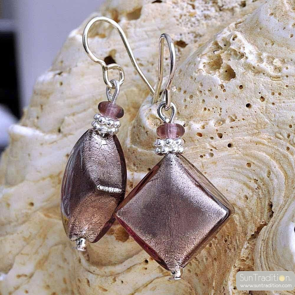 parma murano glass jewelry earrings