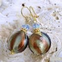 ROMANTICA EARRINGS GENUINE VENICE MURANO GLASS