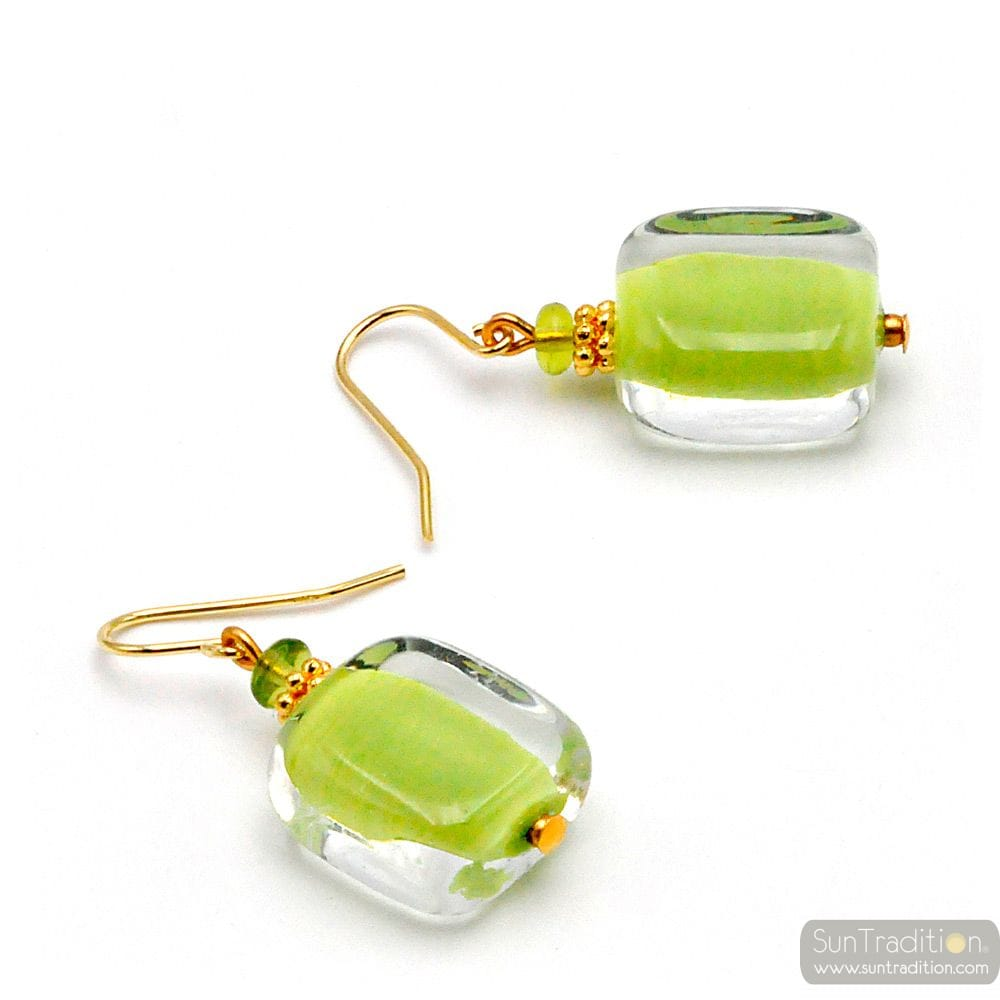 ANISE MURANO GLASS EARRINGS GENUINE VENICE GLASS
