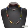 GENUINE VENETIAN GLASS NECKLACE