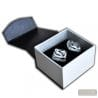 SILVER MURANO CUFFLINKS IN REAL MURANO GLASS VENICE