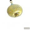 LIGHT BLUE MURANO PENDANT NECKLACE ONION MURANO MURANO VENICE