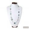 blue Venetian glass jewelry from venice