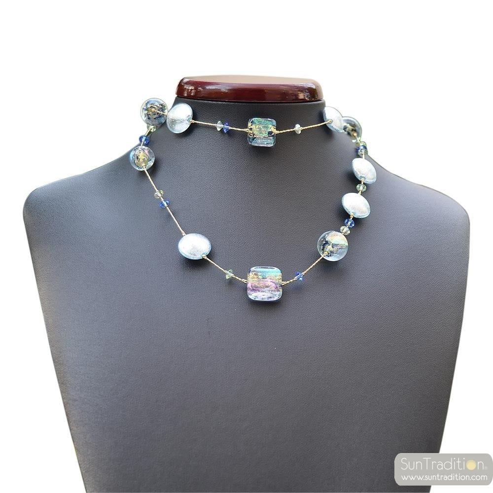 NECKLACE MURANO BLUE VENETIAN