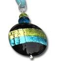 GENUINE MURANO GLASS PENDANTS SKYLINE FROM VENEZIA
