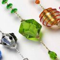 COLLIERS SAUTOIRS - COLLIERS LONGS VERRE MURANO