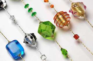 Genuine Murano glass jewels from Venice