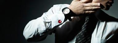 SPINKI DO MANKIETÓW Oryginalny szkła Murano Element elegancji, biżuterię dla mężczyzn.